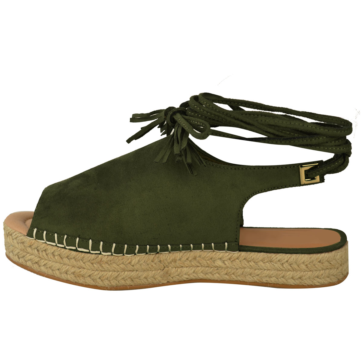 womens lace up espadrilles summer strappy sandals
