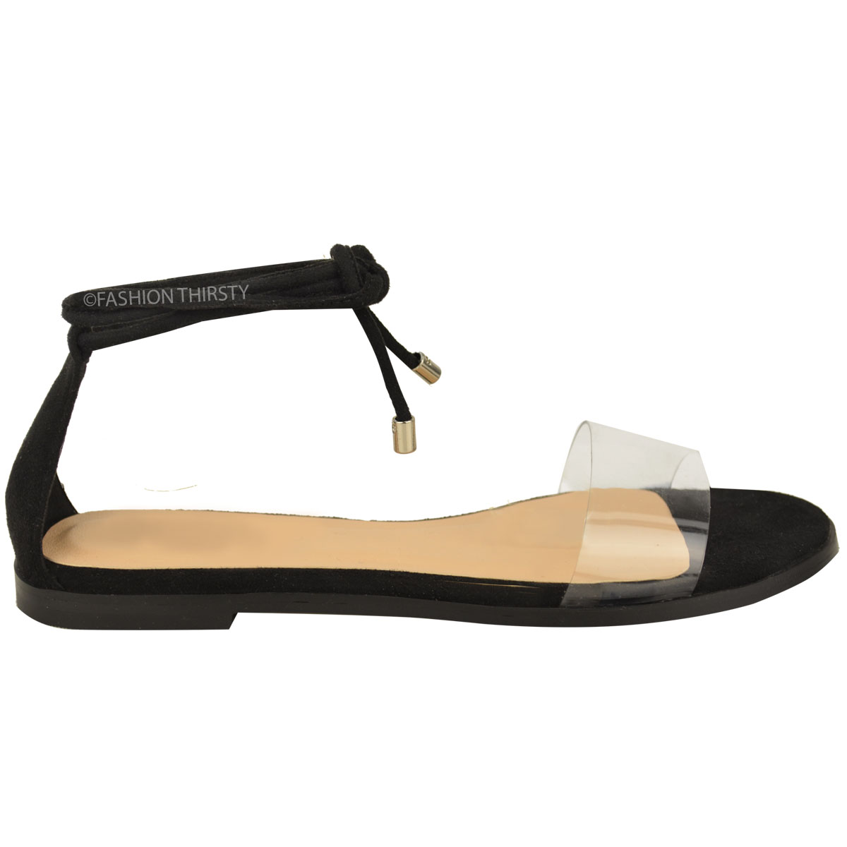 Womens Leather Tie Up Shoes