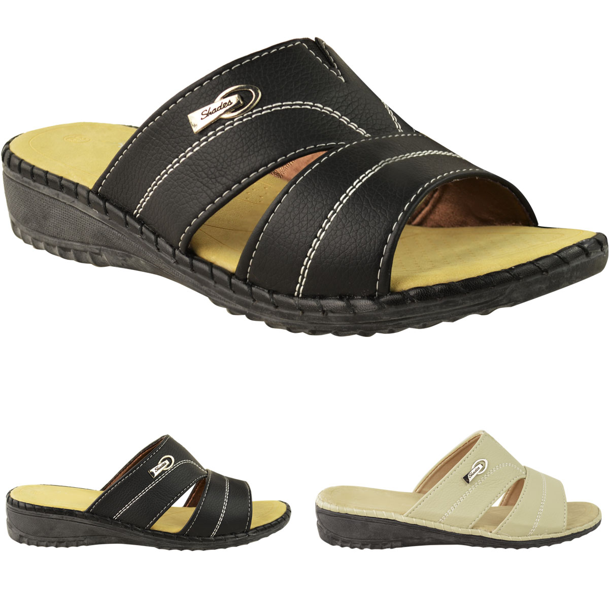 Ladies Wide Fit Sandals And Shoes Uk