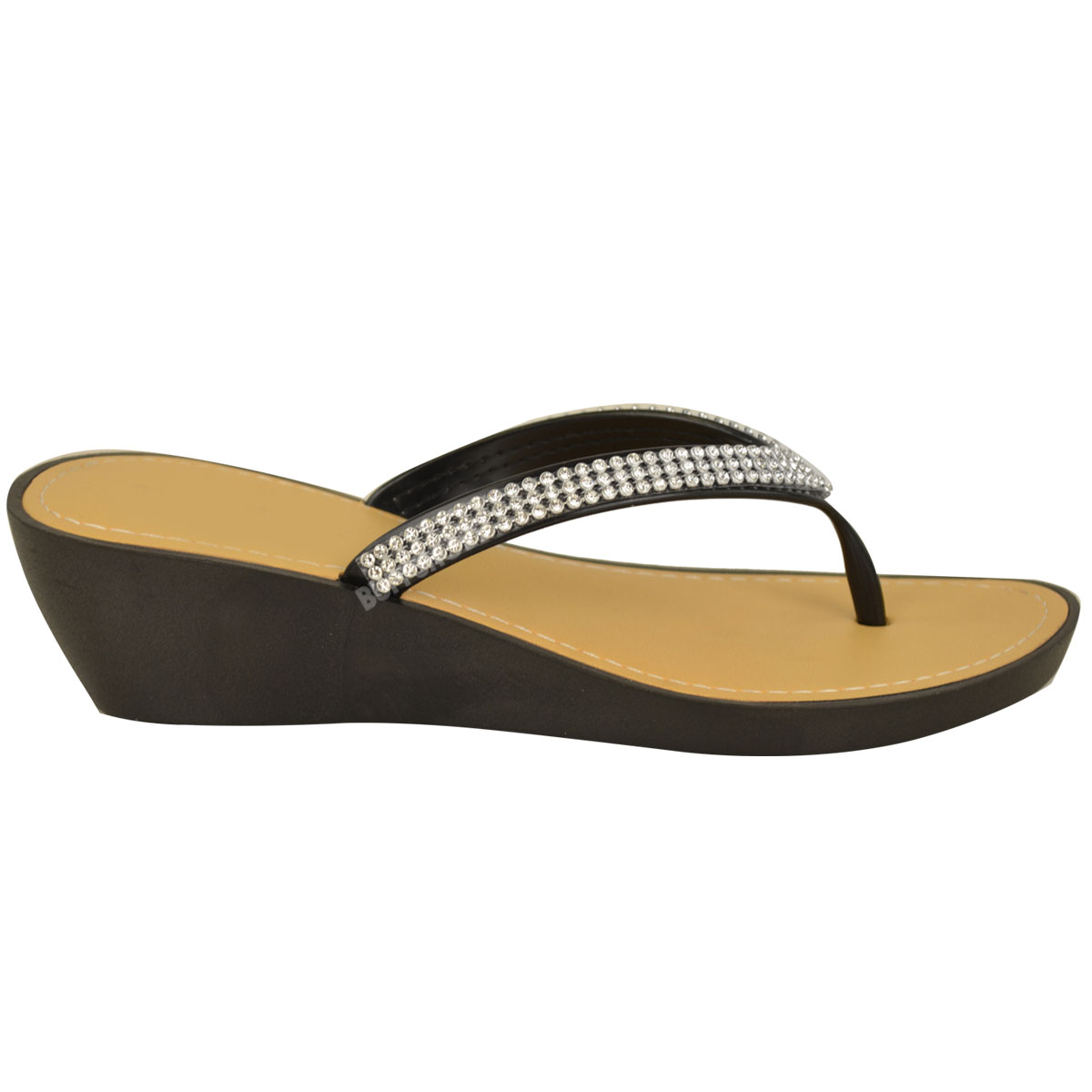 NEW-JELLY-SANDALS-WOMENS-LADIES-DIAMANTE-SUMMER-HOLIDAY-COMFORTS-FLIP-FLOPS-SIZE thumbnail 4