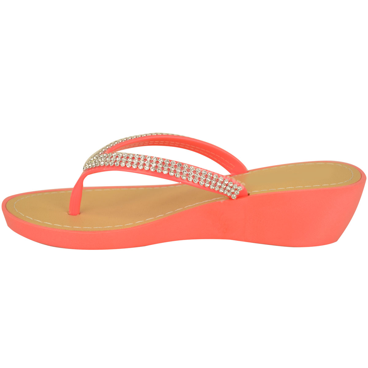 NEW-JELLY-SANDALS-WOMENS-LADIES-DIAMANTE-SUMMER-HOLIDAY-COMFORTS-FLIP-FLOPS-SIZE thumbnail 17