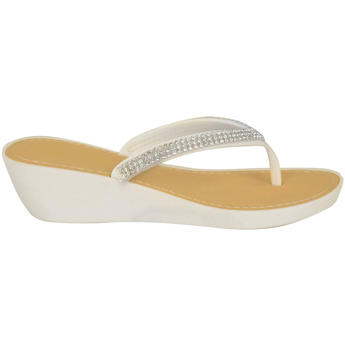 NEW-JELLY-SANDALS-WOMENS-LADIES-DIAMANTE-SUMMER-HOLIDAY-COMFORTS-FLIP-FLOPS-SIZE thumbnail 10