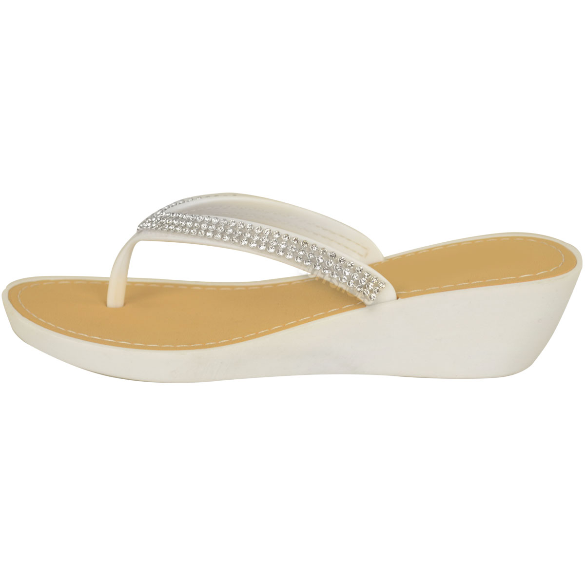 NEW-JELLY-SANDALS-WOMENS-LADIES-DIAMANTE-SUMMER-HOLIDAY-COMFORTS-FLIP-FLOPS-SIZE thumbnail 11