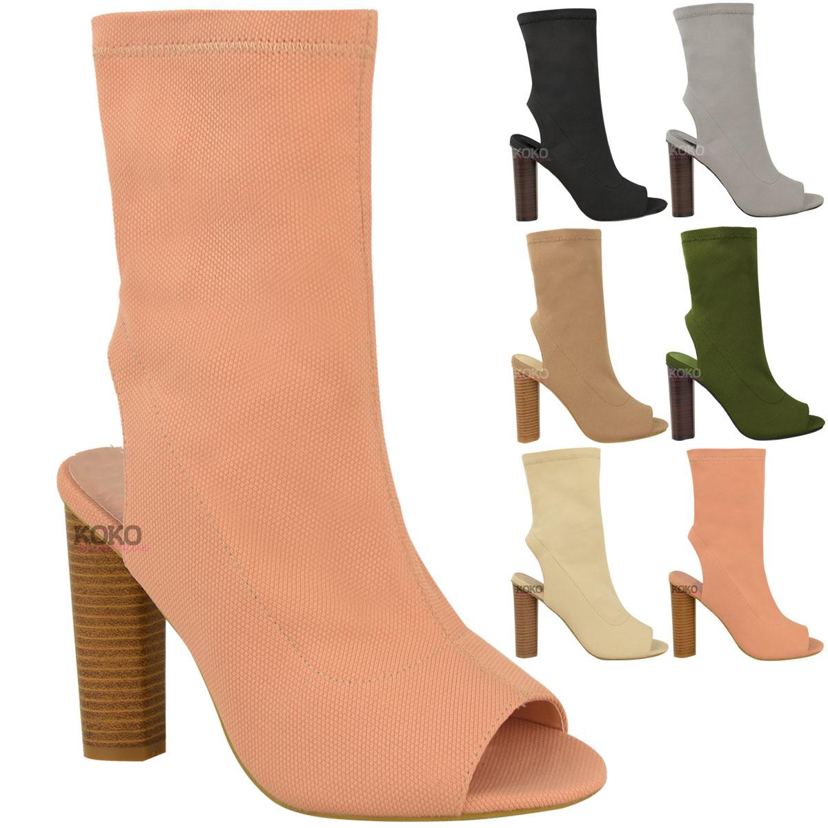 Peep Toe Boots - AMI Clubwear