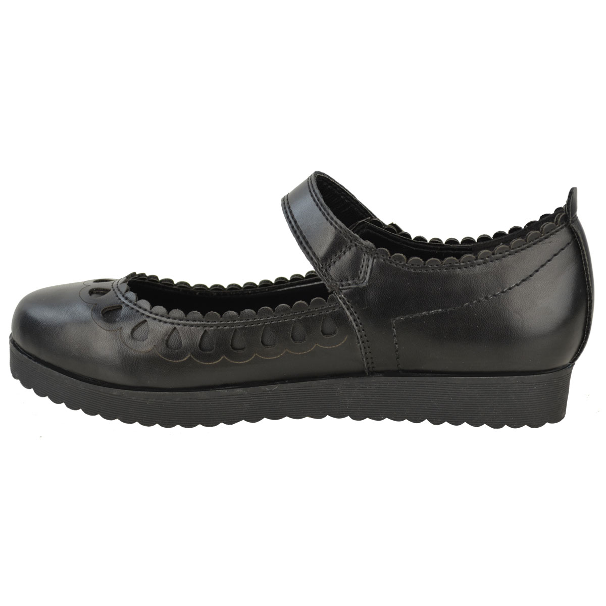 New-Womens-Ladies-Girls-Flats-Shoes-Pumps-School-Work-Office-Geek-Low-Heels-Size thumbnail 8