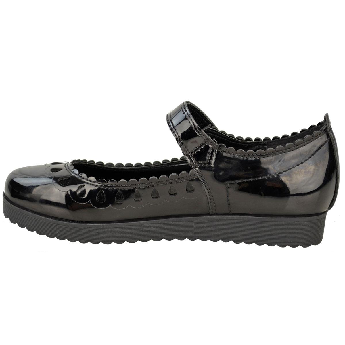 New-Womens-Ladies-Girls-Flats-Shoes-Pumps-School-Work-Office-Geek-Low-Heels-Size thumbnail 4