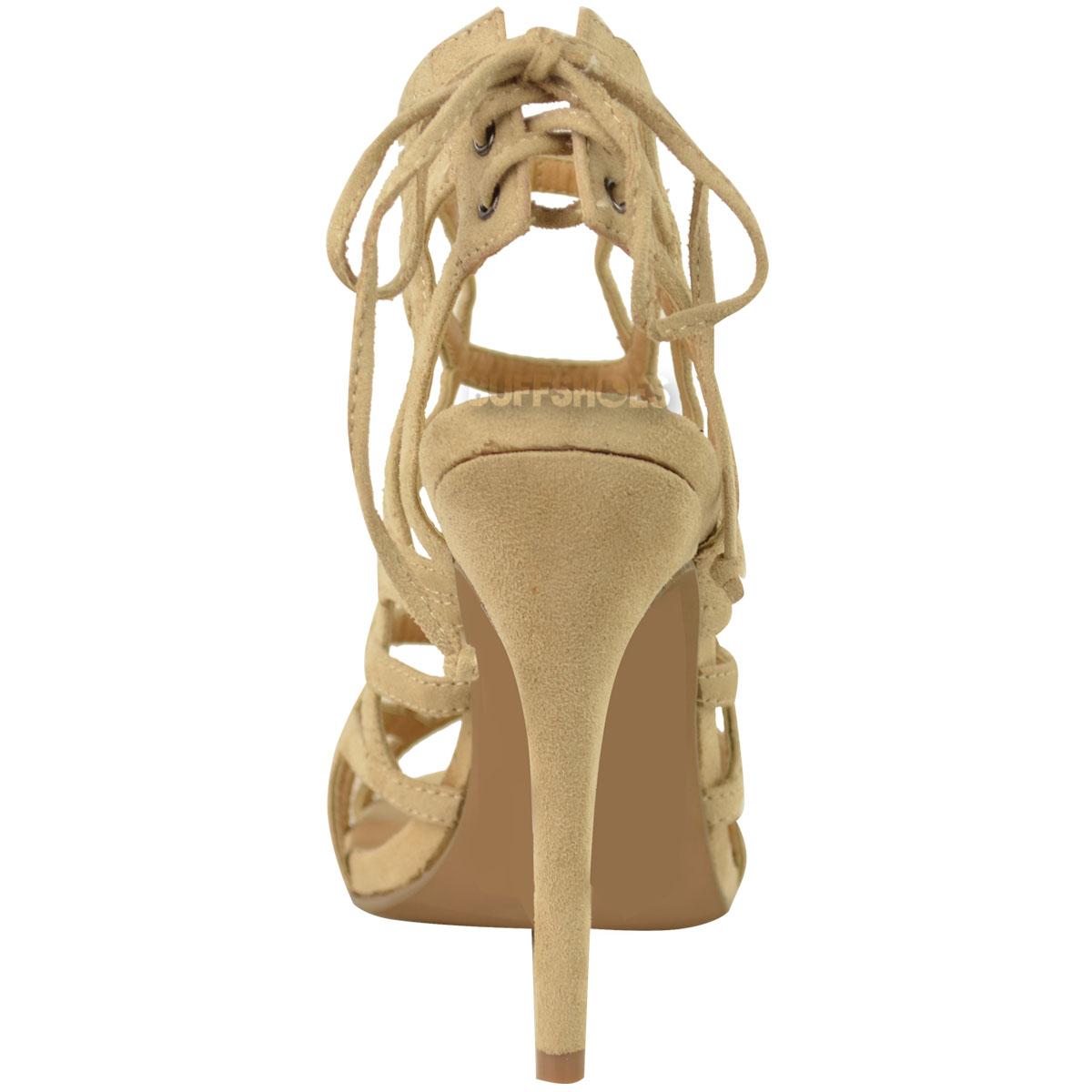 Strap Up Heels - Tot Blcs