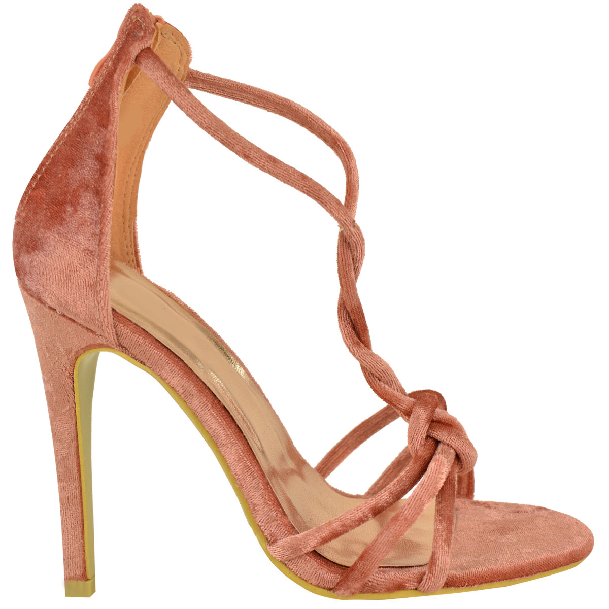 Womens Reduced Sale High Heel Sandals Ladies Peep Toe Ankle Strappy Party Shoes