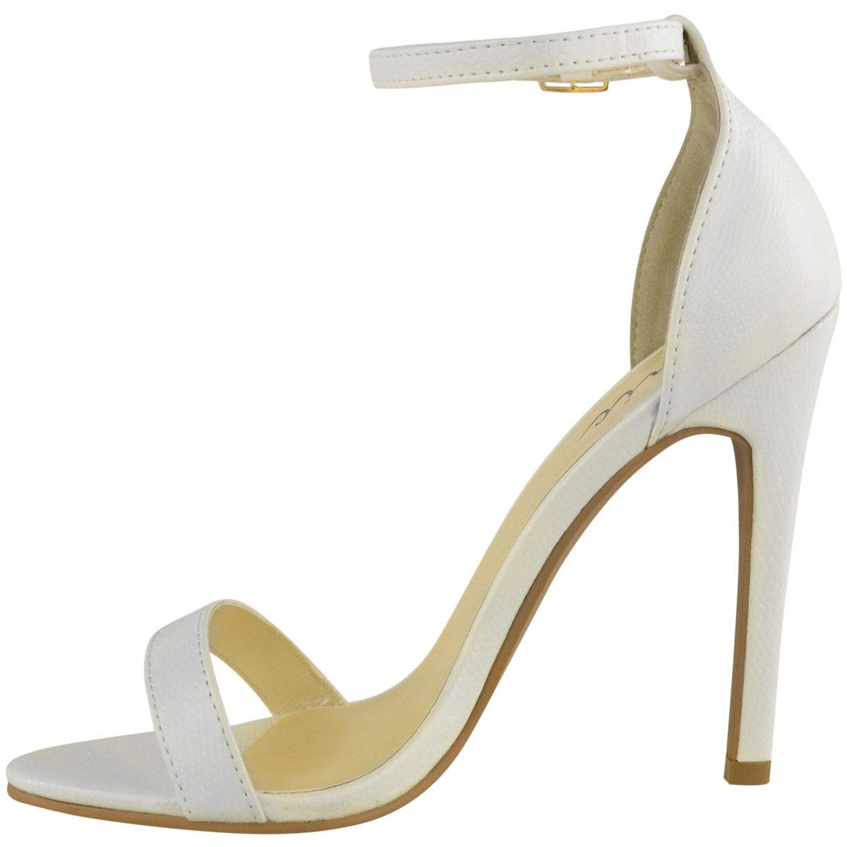 Donna-tacchi-alti-Stilettos-Cinturini-alla-Caviglia-Polsino-Punta-Aperta-Sandali-Scarpe-Taglia