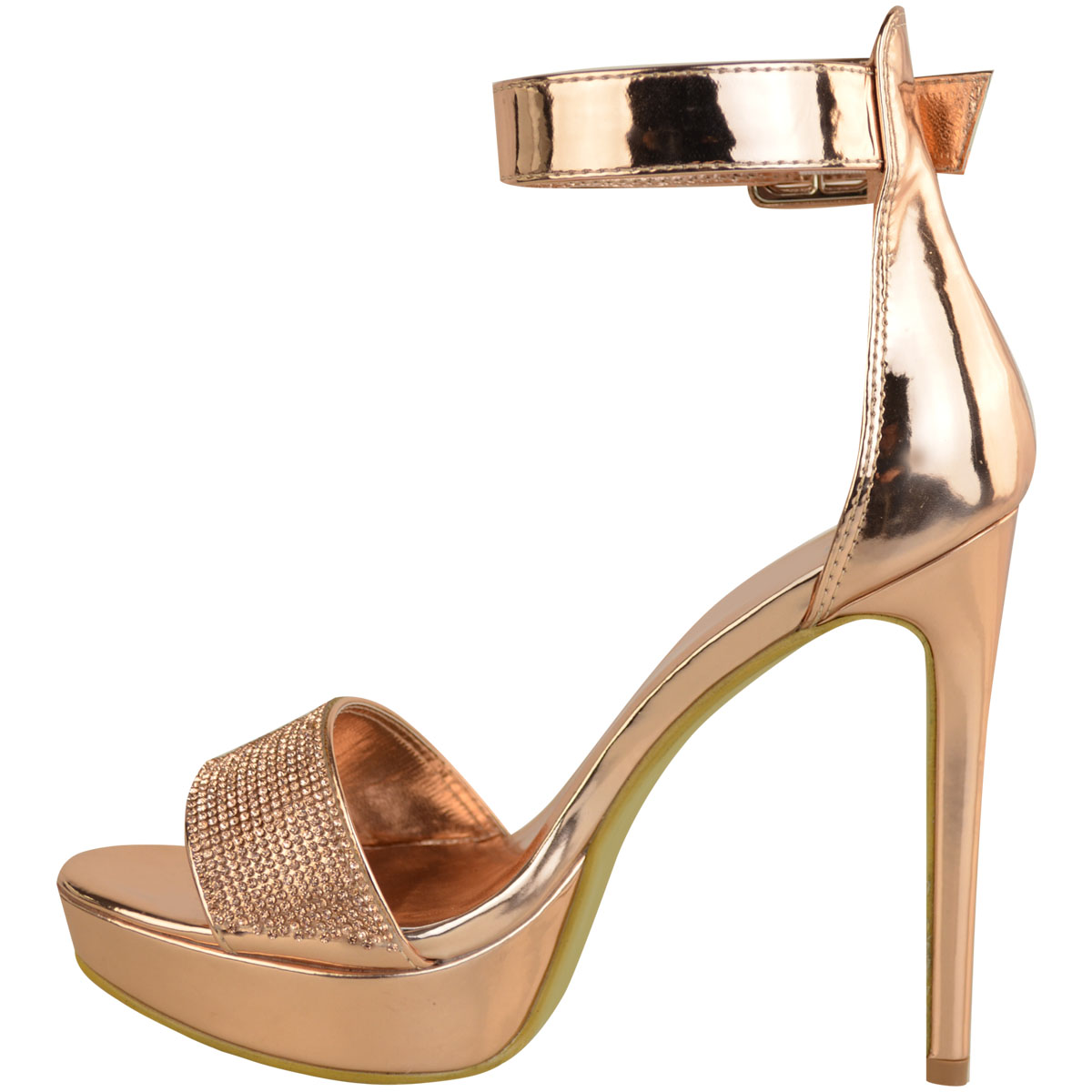 Womens-Ladies-Stilettos-High-Heels-Strappy-Platforms-Sandals-Diamante-Shoes-Size thumbnail 24