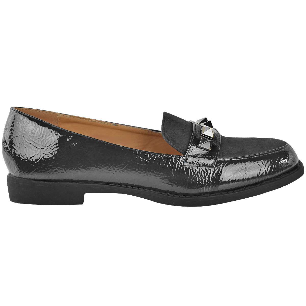 Womens-Ladies-Loafers-Brogues-Pumps-Casual-School-Office-Comfy-Work-Flats-Size thumbnail 7
