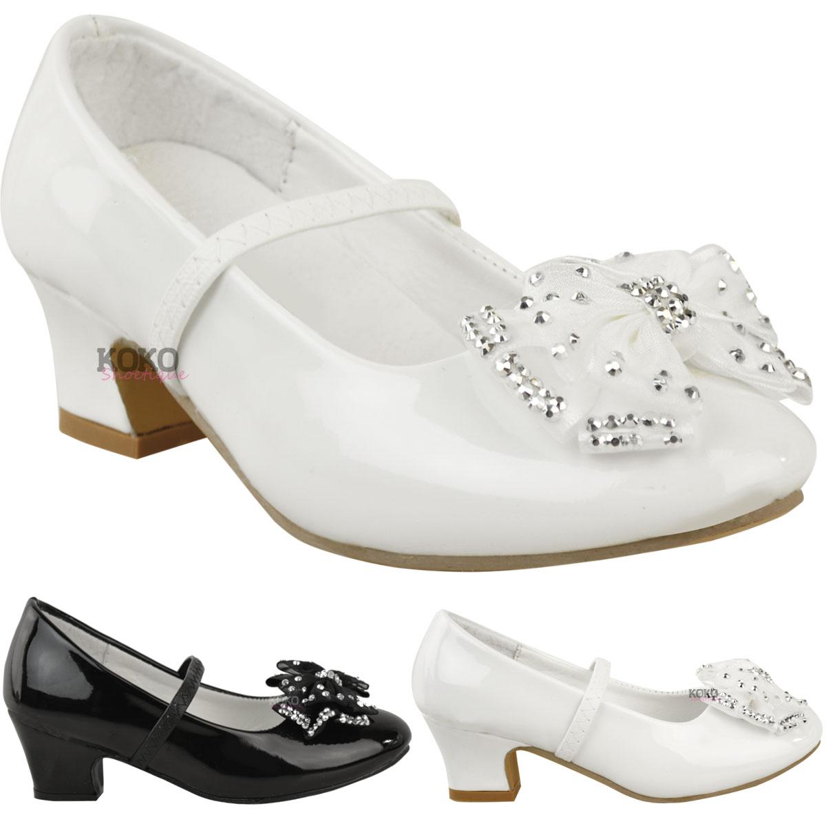 S Babies Childrens Wedding Party Sandals Low Heel