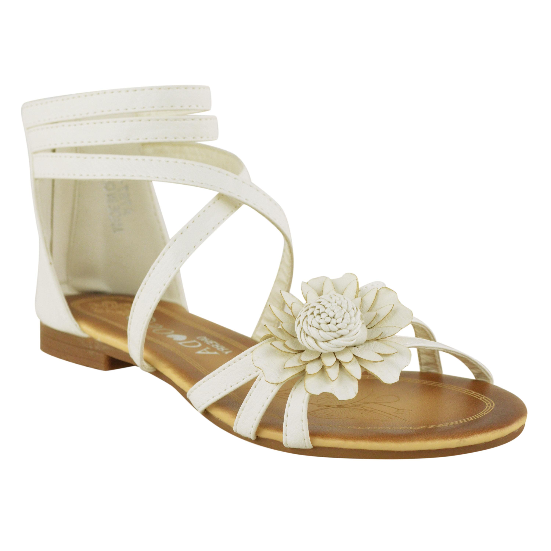 Kids S Childrens Summer Sandals Wedding Party Flat